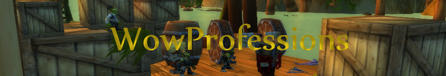 WoW Professions header image